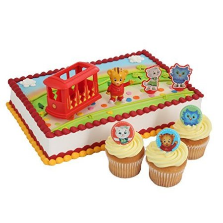 Daniel Tiger Officially Licensed Cake Topper And 24 Cupcake Rings