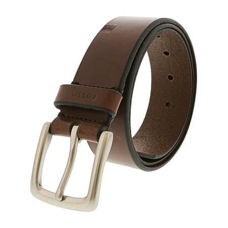 38 Inch Belt - Fossil Men's Brown Joe Belt Apparel - 44 Inches