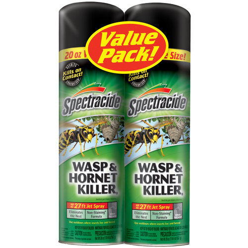 Spectracide Wasp and Hornet Aerosol Twin Pack