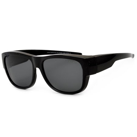 Polarized Full Coverage Wrap Around Dark (Wrap Around Zipper)