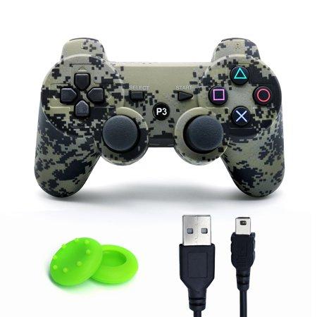 SIXAXIS ps3 controller Dual Vibration Joystick Joypad Gamepad For Playstation 3 (Dual Stick Game Pad)