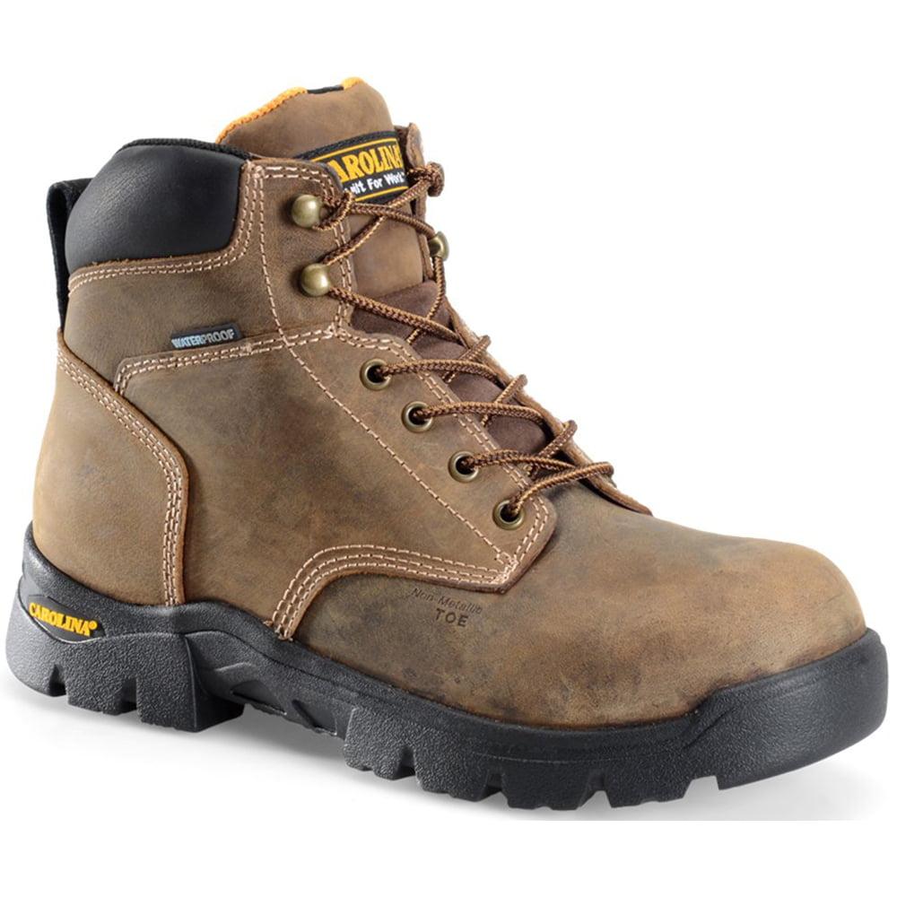 Carolina Mens 6 Inch Waterproof Composite Toe Work Boot by Carolina