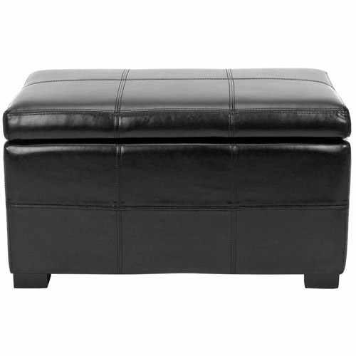Safavieh Madison Bicast Leather Upholstered Small Storage Bench, Multiple Colors