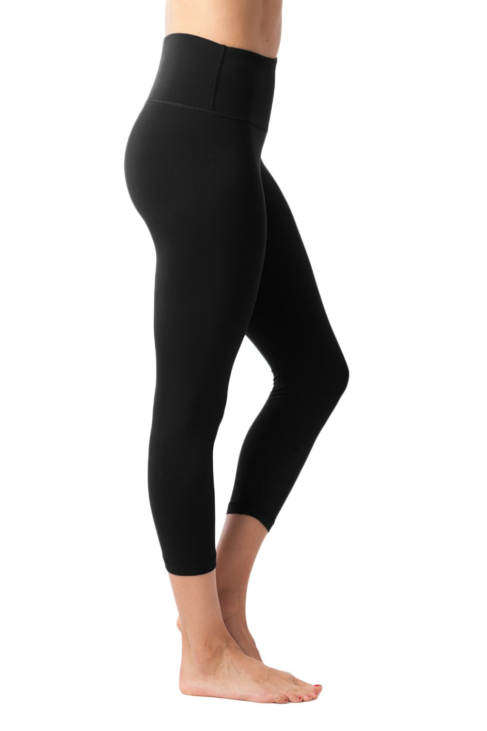 90 Degree By Reflex - High Waist Tummy Control Power Flex Capris