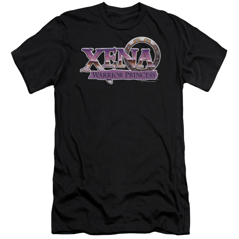 Xena Warrior Princess Logo Mens Slim Fit Shirt