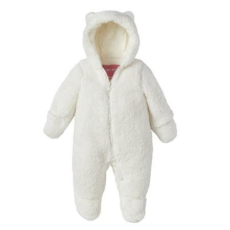 Wippette Sherpa Hooded Pram Snowsuit (Baby Girls & Baby Boys, Unisex)