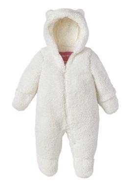 Wippette Baby Girl or Boy Unisex Sherpa Hooded Pram Snowsuit