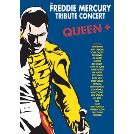 The Freddie Mercury Tribute Concert (DVD) (Best Music Concert Dvds Of All Time)