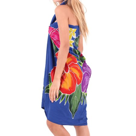 Swimsuit Cover ups Sarong Bali For Beach Women Pareo Hawaiian Suit Wrap Dresses