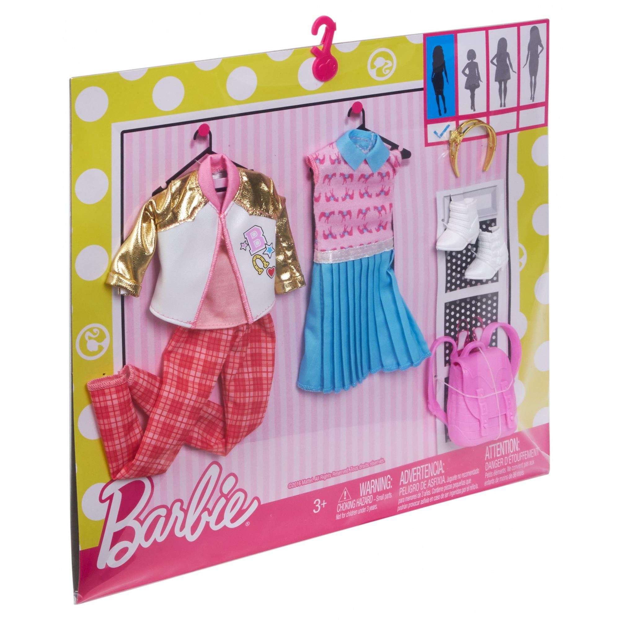 style doll youtube set hangers wardrobe ultimate closet clothes dresses shoes barbie watch