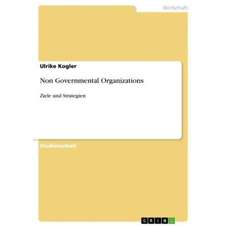 Non Governmental Organizations - eBook (10 Examples Of International Non Governmental Organizations)