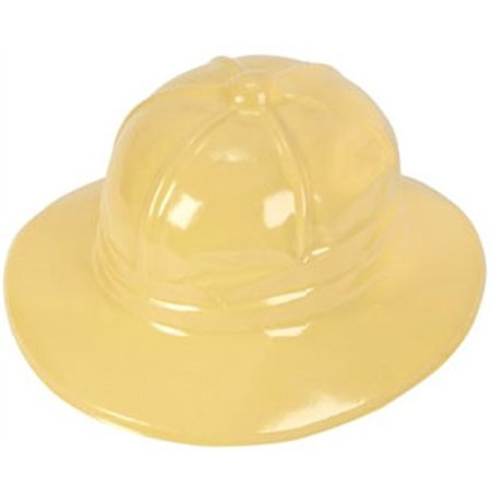 New Plastic Costume Jungle Safari Yellow Tan Party Hat - Vbs Jungle Safari