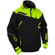 Castle X Racewear Rival Mens Snowmobile Jacket Black/Hi-Vis
