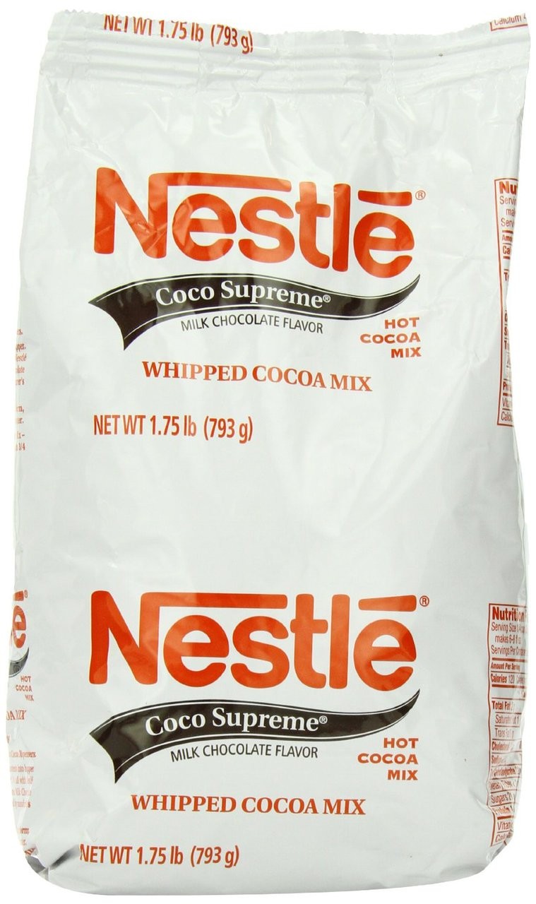 12 PACKS : Nestle Hot Cocoa Mix, Coco Supreme, 1.75-Pound Packages by