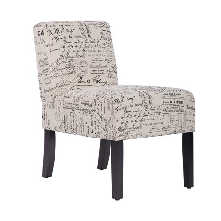 Armless contemporary sofa accent chair upholstered club - Modern upholstered living room chairs ...