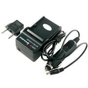 iTEKIRO Battery Charger Kit for Panasonic Lumix DMC-S5K, DMC-S5R, DMC-S5S, DMC-SZ02, DMC-SZ1, DMC-SZ1A, DMC-SZ1GK, DMC-SZ1K, DMC-SZ1R, DMC-SZ1S