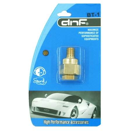 GM GMC Gold Plated Short Side Post Mount Battery Terminal Adapter Untended (Side Mount Post)
