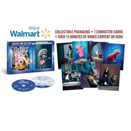 Sing (Blu-ray) (Walmart Exclusive)