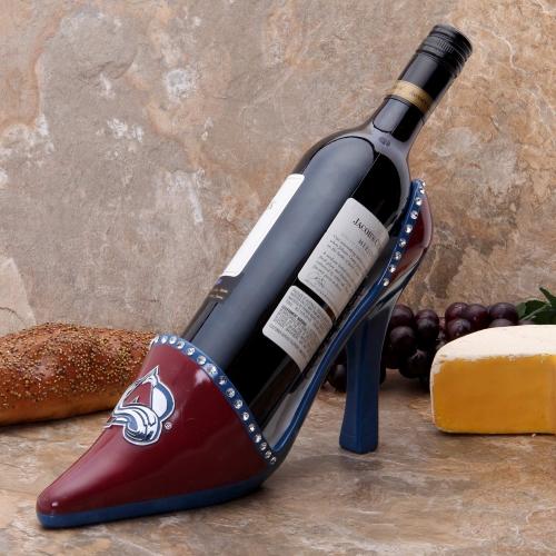 Colorado Avalanche Shoe Wine Bottle Holder - No Size