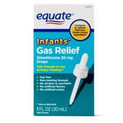 Equate Infants Gas Relief Simethicone Drops, 100 Ct, 1 Oz