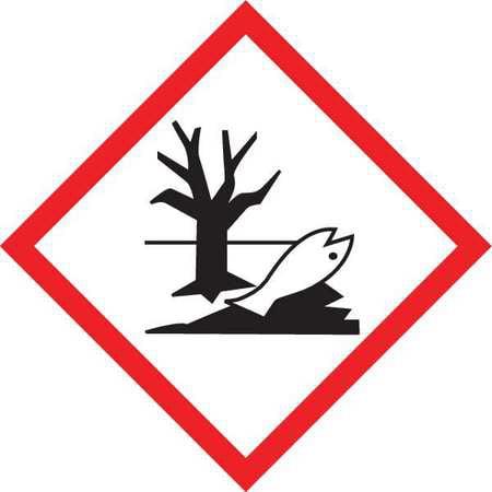 GHS Label,Environment,2x2,250 Roll ACCUFORM LZH618EV2