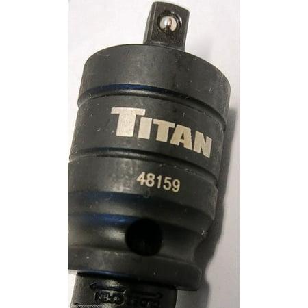 "Titan 48159 3/8"" Female x 1/4"" Male Wobble Adapter"