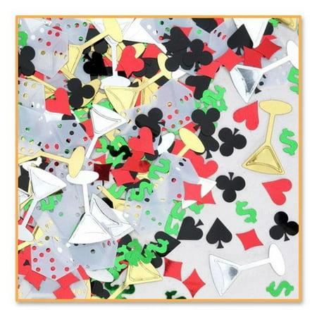 Casino Night Confetti (Pack of