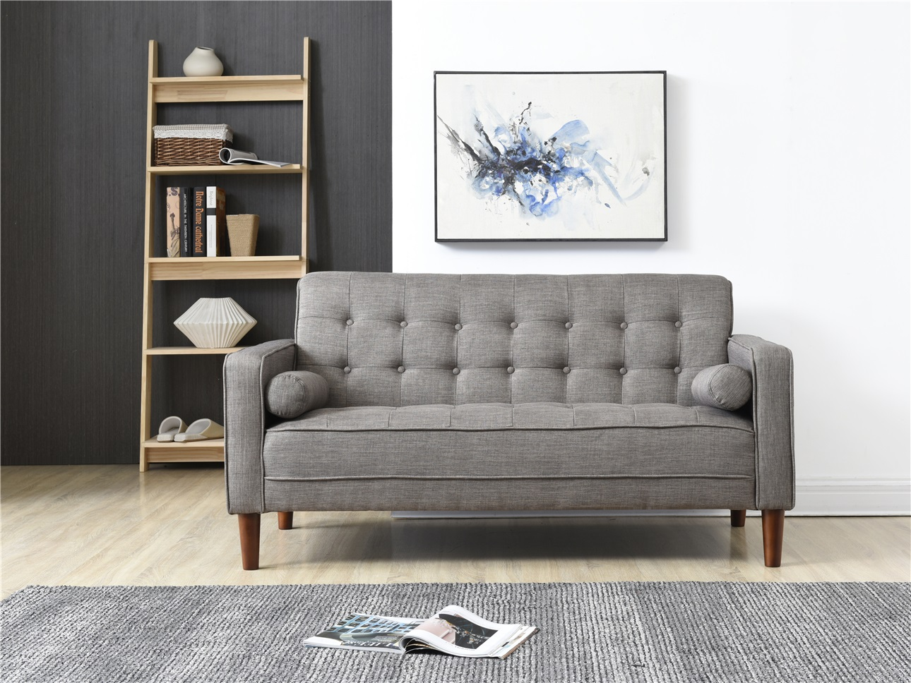 Merveilleux Nathaniel Home Nolan Small Space Sofa, Multiple Colors Image 1 Of 5