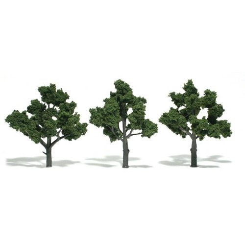 Woodland Scenics Ready Made Tree Value Deciduous (Set of 14)