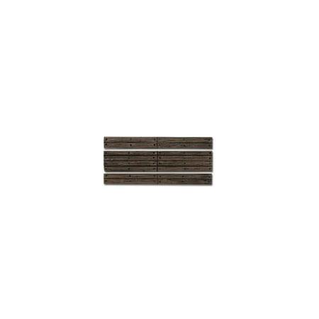 Scale Wood Grade Crossing - WOODLAND SCENICS C1147 HO Grade Crossing Wood Plank