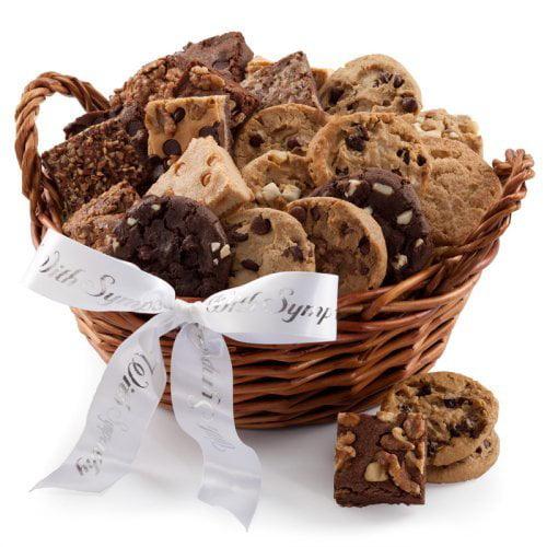 Mrs. Fields® Cookie & Brownie Sympathy Gift Baskets