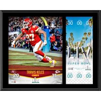 Travis Kelce Kansas City Chiefs 12'' x 15'' Super Bowl LIV Champions Sublimated Plaque with Replica Ticket