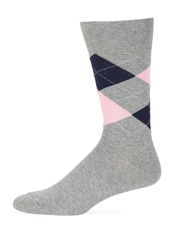 Argyle Print Socks