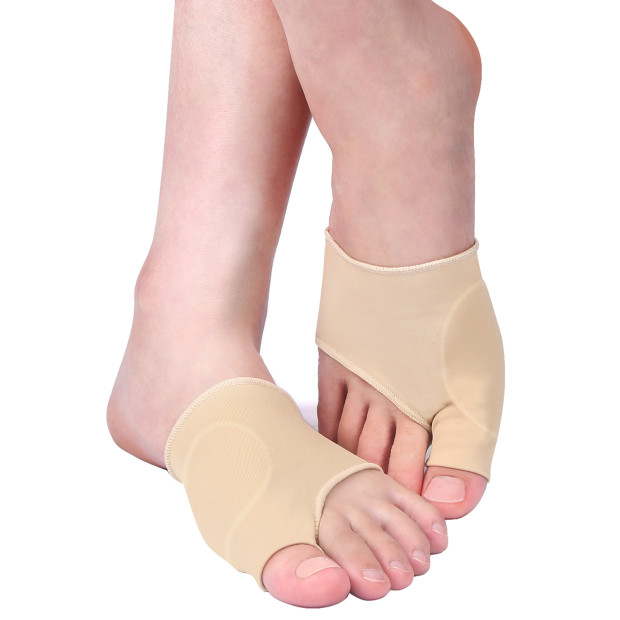 VGEBY1 Pair Gel Pad Bunion Gel Toe Metatarsal Pad Bunion for Cushioning Bunion Relief Wear in Shoes Protector Sleeves Bunion Pain Relief Socks Toe Separators Spacers Straightener (L)