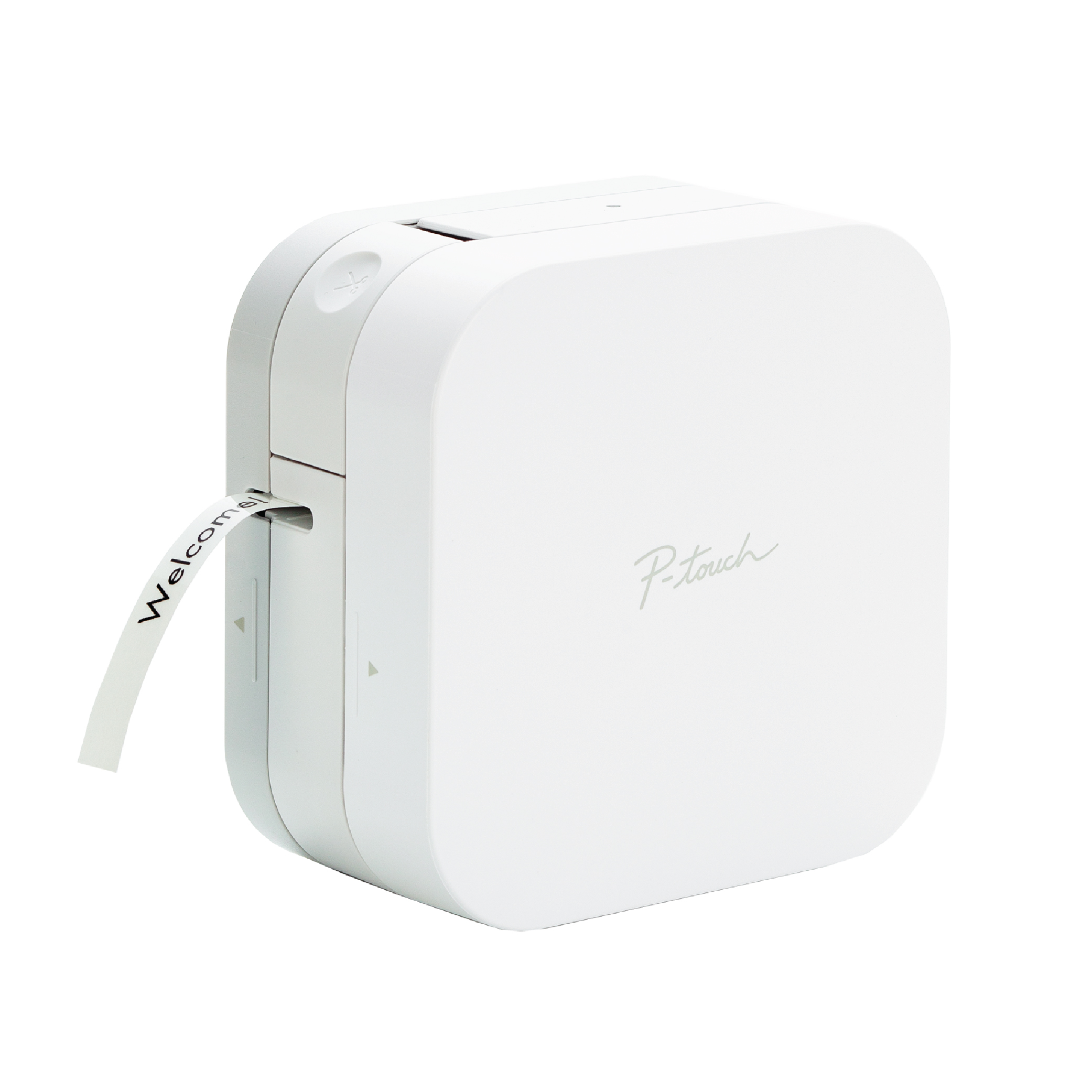Brother P-touch CUBE Smartphone Label Maker with Bluetooth Wireless Technology White by Brother Industries, Ltd