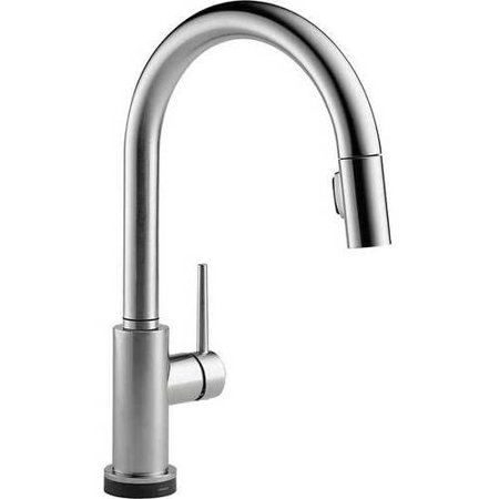 Delta Trinsic Touch Activated Kitchen Faucet With Pull Down Spray Available In Various Colors