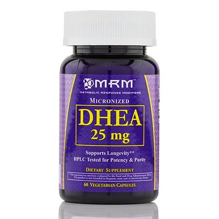 DHEA 25 mg (micronisé) - 60 Vegetarian Capsules de MRM
