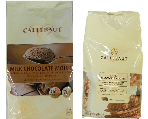 Callebaut Chocolate Mousse Mix by