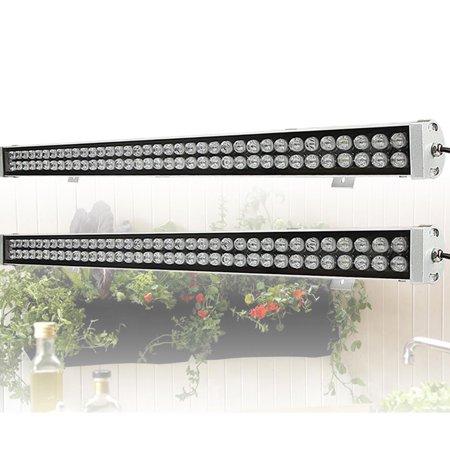 led grow lights 2 pack beamnova 216w led plant grow light. Black Bedroom Furniture Sets. Home Design Ideas