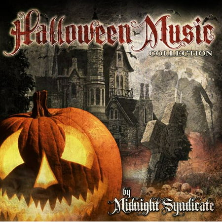 Halloween Music Collection (CD) - Hillbilly Halloween Music