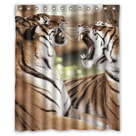 Custom Royal Tiger Funny Shower Curtain 60 X 72 Inch Bath