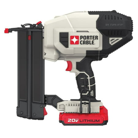PORTER CABLE PCC790LA 20V MAX 18 GA Cordless Brad Nailer Kit