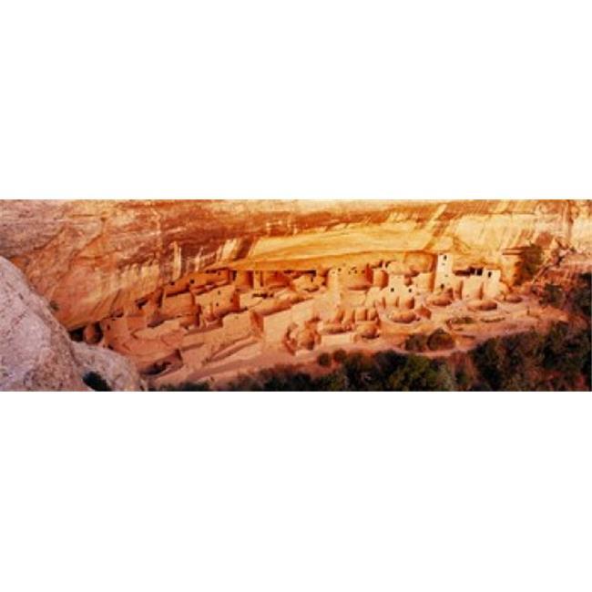 Images panoramiques PPI13572L Ruines Cliff Palace de Mesa Verde Colorado USA copie d'affiche par images panoramiques - 36 x 12 - image 1 de 1