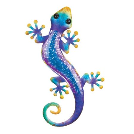 Gecko Wall Hanging (Regal Watercolor Gecko Wall Decor 18