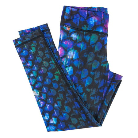 Womens Mermaid Leggings - By Fin Fun, Great for Yoga, Fitness and (Women And Running)