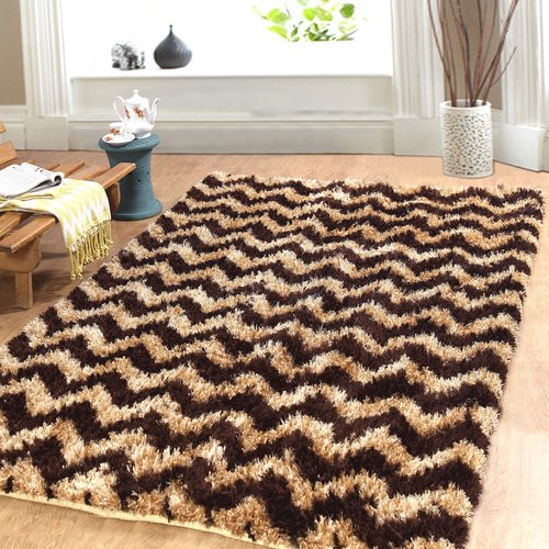 Affinity Linens Hand-Woven Beige/Cocoa Area Rug