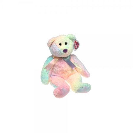 TY Beanie Buddy - GROOVY the Ty-Dyed Bear (14 inch) ()