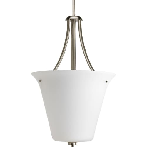"""Progress Lighting P3950 Joy 1 Light Specialty Pendant with Etched Glass - 16"""" Wi"""