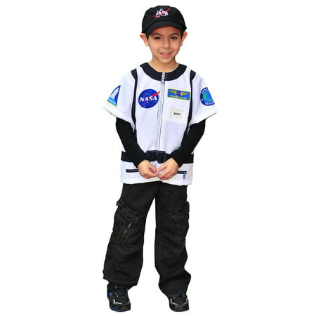 My 1st Career Gear Astronaut Dress-up Shirt Costume for Kids