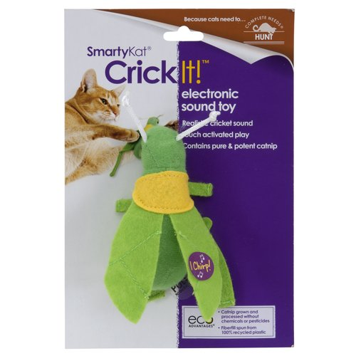 SmartyKat Crickit Cat Toy